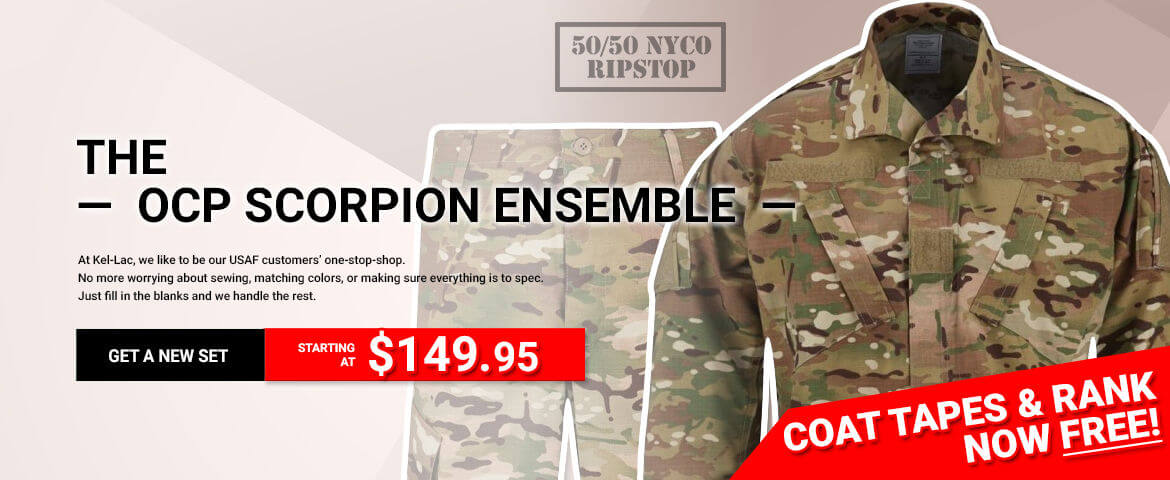 The USAF OCP Scorpion Ensemble