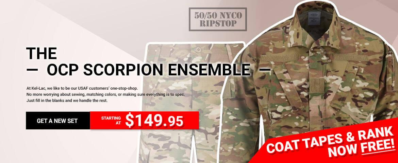 The USAF OCP Scorpion Ensemble