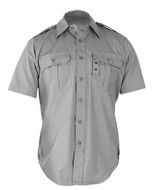 Propper Short Sleeve Tactical Dress Shirt in Grey