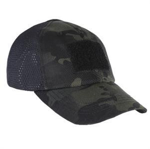Mesh 6-Panel Condor Tactical Cap in Multicam Black 6417f9690e8