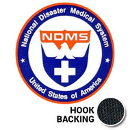Emblem - NDMS (w/ Hook Back)