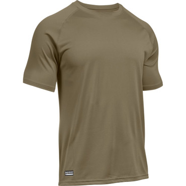 Men's UA Tactical Tech Short Sleeve T-Shirt in Federal Tan