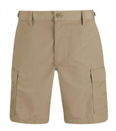 Propper BDU Shorts with Zip Fly in Khaki