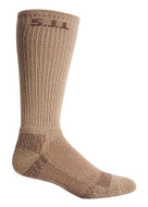 5.11 Level 1 Boot Sock in Coyote