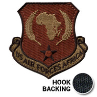 USAFRICOM patch in OCP with hook backing