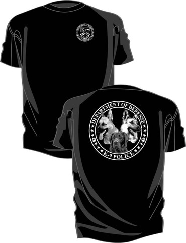 Kel-Lac K-9 Department of Defense T-Shirt