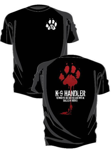 Kel-Lac K-9 Blood Brother T-Shirt