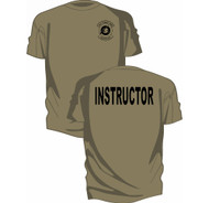 Combat Arms Instructor Short Sleeve T-Shirt from Kel-Lac - Tan 499 (OCP)