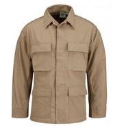 Propper BDU Twill 4 Pocket Coat in Khaki