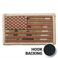 Multicam OCP American Flag Patch with hook backing