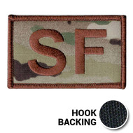 USAF Spice Brown Multicam SF Duty Identifier Tab Patch