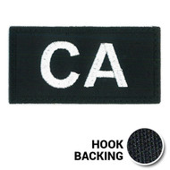 Embroidered Combat Arms Call Sign Patch with hook backing
