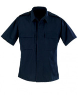 Propper BDU Battle Rip 2 Pocket Short Sleeve Shirt in Dark Navy