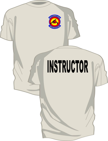 Full Color Combat Arms Instructor Short Sleeve T-Shirt from Kel-Lac