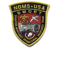 Sew on Embroidered DMORT emblem patch