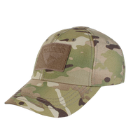Multicam CONDOR Tactical Cap  6-Panel Full - 2 x 3 velcro (Flag)