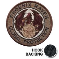 Phoenix Raven Global Protection Patch - Desert