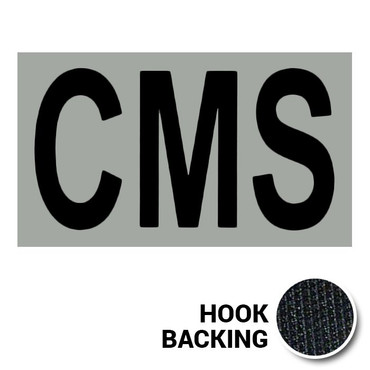CMS IR Duty Identifier Patch with Hook Backing