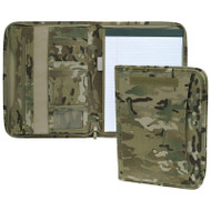 Multicam Zippered Padfolio