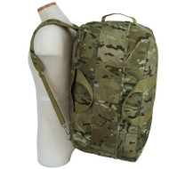 Mercury Tactical Gear Multicam Kit Bag worn as backpack
