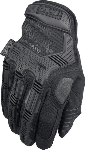 Back of Mechanix M-Pact Impact Tactical Gloves in Black