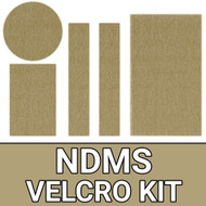 NDMS/HHS Blouse Velcro Kit - Khaki