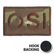 USAF Spice Brown Multicam OSI Duty Identifier Tab Patch