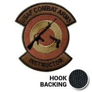 Combat Arms Morale Patch, Embroidered - OCP (w/ Hook Back)