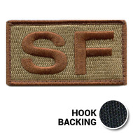 Embroidered Duty Identifier Tab - SF - OCP (w/ Hook Back)