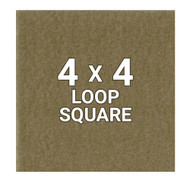 "4"" Loop Backing Square - Coyote/OCP"