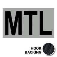 MTL IR Duty Identifier Tab Patch with hook backing