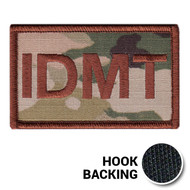 USAF Spice Brown Multicam OCP IDMT Duty Identifier Tab Patch