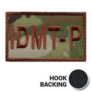 USAF Spice Brown Multicam IDMT-P Duty Identifier Tab Patch