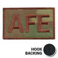 USAF Spice Brown Multicam OCP AFE Duty Identifier Tab Patch