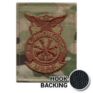 OCP Fire Protection Badge - 4 Bugle (Deputy Chief)