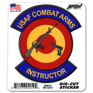 Combat Arms Instructor Die-Cut Sticker