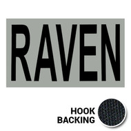 RAVEN IR Duty Identifier Tab Patch with hook backing