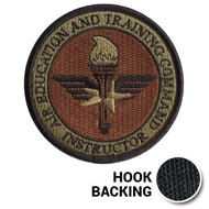 AETC Basic Instructor Patch - OCP (w/ Hook Back)