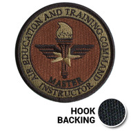 AETC Master Instructor Patch - OCP (w/ Hook Back)