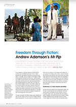Freedom Through Fiction: Andrew Adamson's <em>Mr Pip</em>