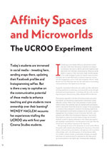 Affinity Spaces and Microworlds: The UCROO Experiment