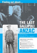 Meeting the last Gallipoli ANZAC