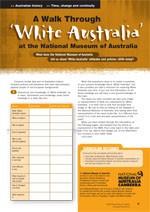 Taking a walk through the White Australia Policy at the National Museum of Australia