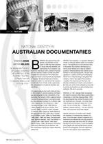 National Identity in Australian Documentaries