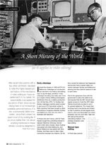 A Short History of the World (as it applies to video editing)