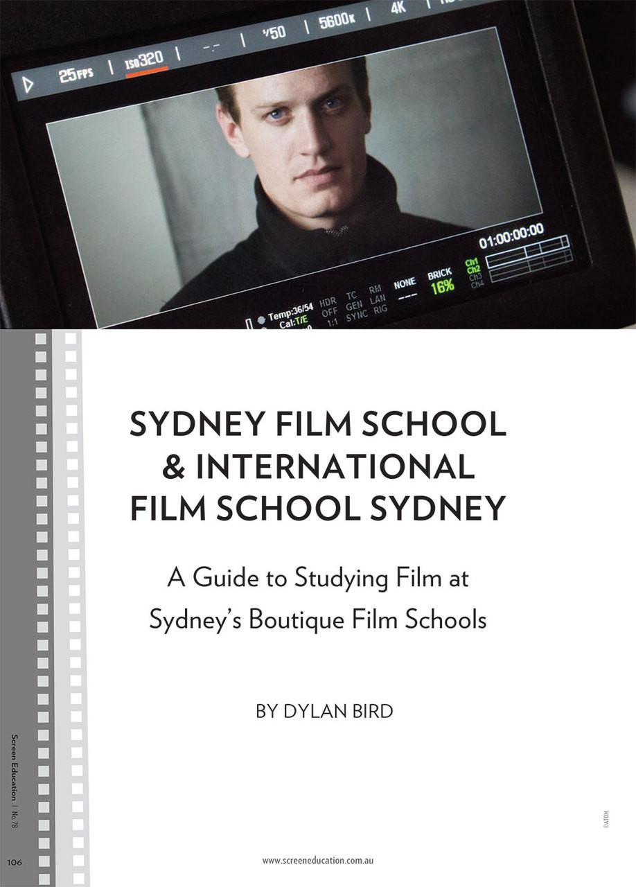 Sydney Film School International Film School Sydney A Guide To