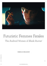 Futuristic Femmes Fatales: The Android Women of Blade Runner