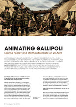 Animating Gallipoli: Leanne Pooley and Matthew Metcalfe on 25 April