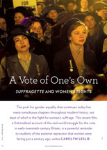 A Vote of One's Own: Suffragette and Women's Rights