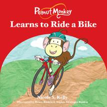 Peanut Monkey Learns to Ride a Bike
